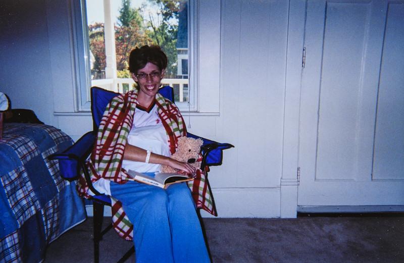 Sara Jarvie Post op surgery 2006