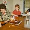 Micheala, Grandma Jarvie, Remington, Grandpa R. Scott