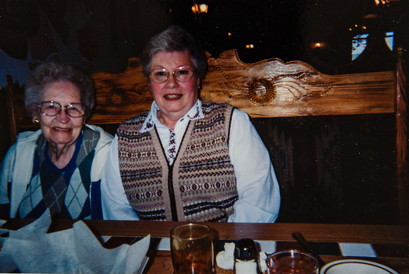 Grandma Anderson, Ellen Walker 2004