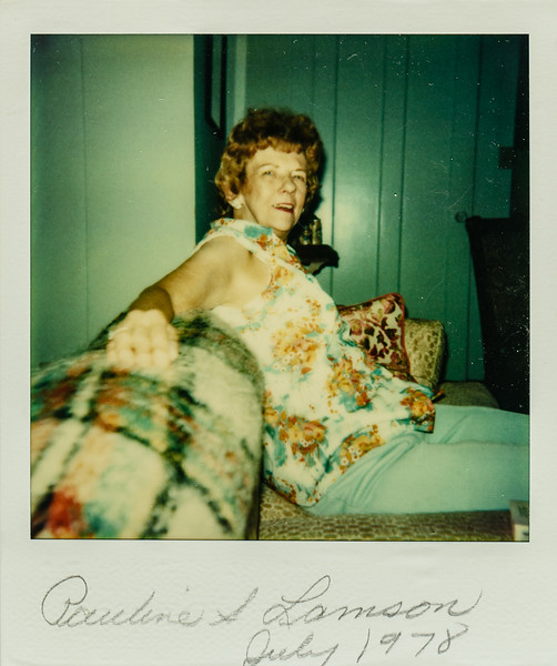 Pauline Lamson July 1978