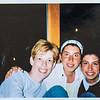 Sara Jarvie, Carine and Pascale Dumit 2003 at Duck Beach