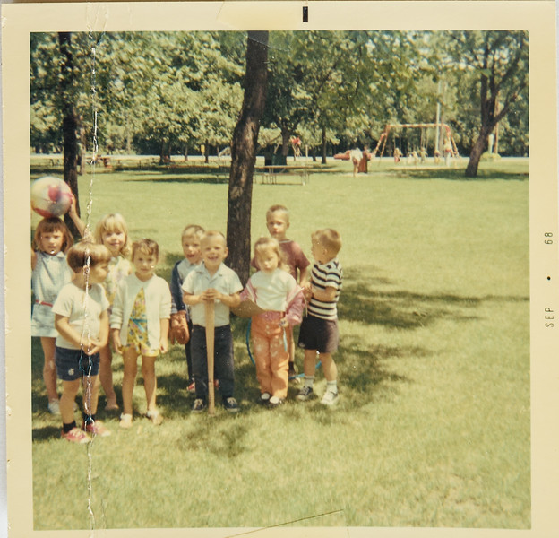 Matt's Birthday party 1968