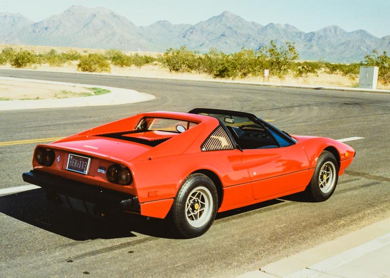 Dave Bonnstetter's Ferrari