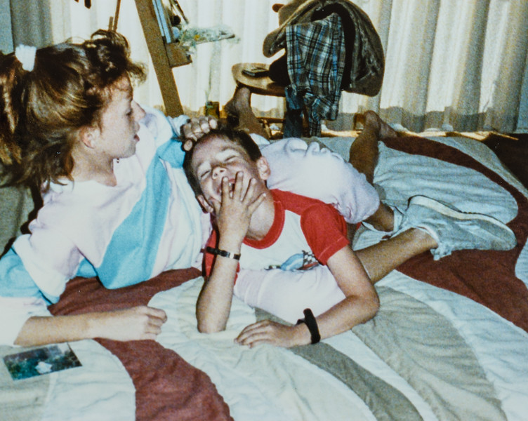Kristen and Scotty Jarvie 1988