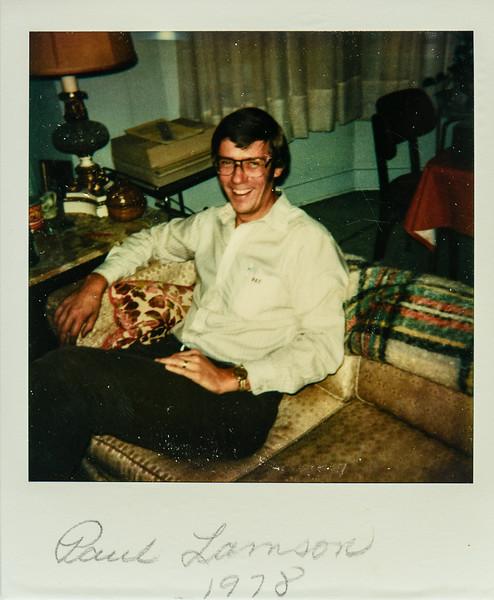 Paul Lamson 1978