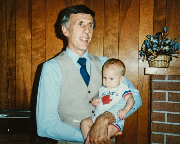 R. Scott Jarvie (Gramps) and James Dickenson Nov. 1984