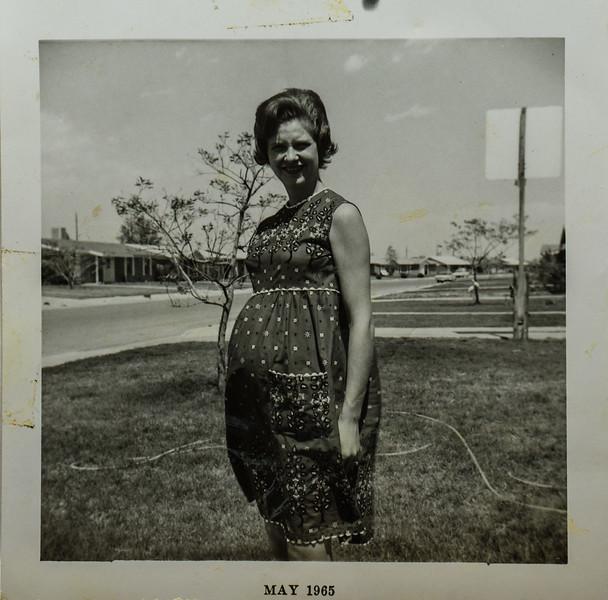 Barbara Hoaley 7 1/2 months may 1965