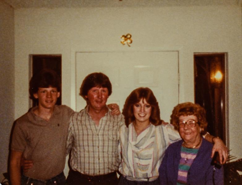 Russ R. Russ C. Heidi, Nana, 1984