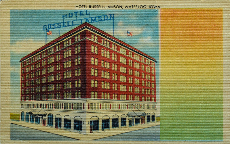 """Here is your """"Souvenior"""" from Hawaii. Also card shows how hotel looked when opened in 1914"""