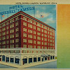 "Here is your ""Souvenior"" from Hawaii. Also card shows how hotel looked when opened in 1914"