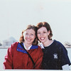 Melinda Rice and Sara Jarvie at the Jefferson Memorial 2006