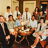 1992 Lamson reunion all 9 grand children plus 2 nephews and 1 neice in Russell House