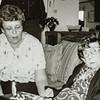 Kathy Jarvie and Pauline Lamson