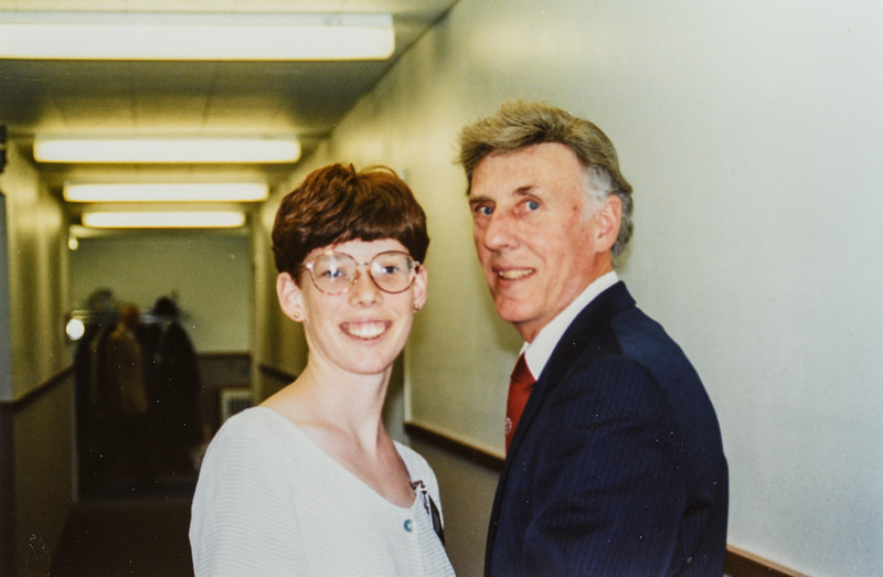 Sara and R. Scott Jarvie 1995