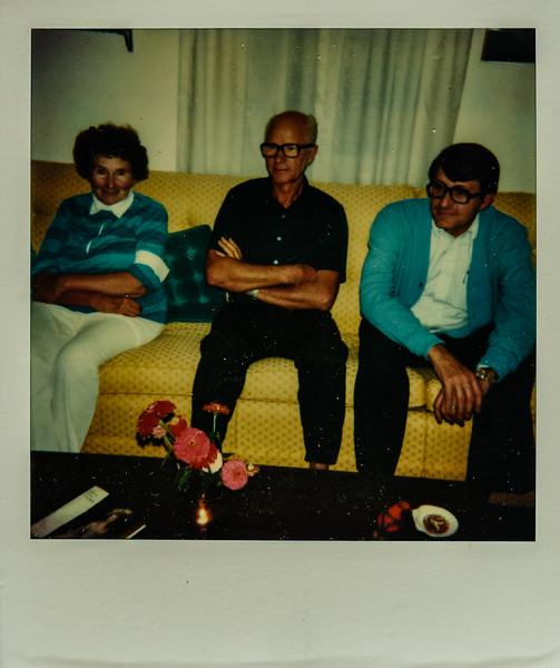 Evelyn, Bernie, Dave Harper 1978