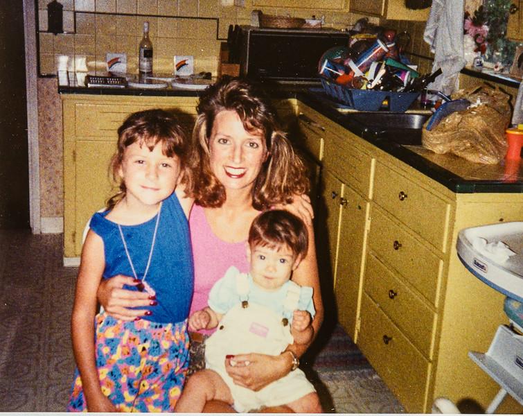 Heidi, Nicole, Bethany July 1992
