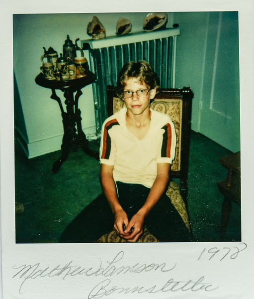 Matthew Lamson Bonnstetter 1978