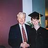 Merril J Bateman (BYU President) and Sara Jarvie 1997