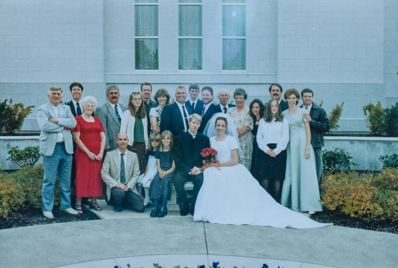 Jared and Kris wedding 2001