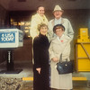 Lynee E. Jordan, Sherm Erickson, Eleanor Erickson and Pauline Lamson Jan 1992 Village Inn in Waterloo
