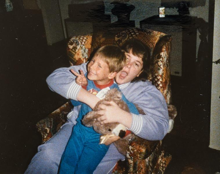 Beth Quinney and Scott Jarvie 1986