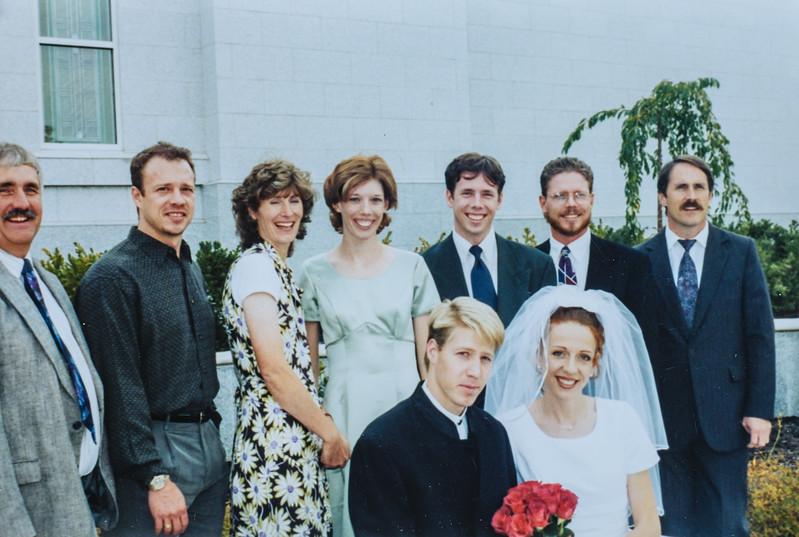 Jared and Kristen's wedding 2001