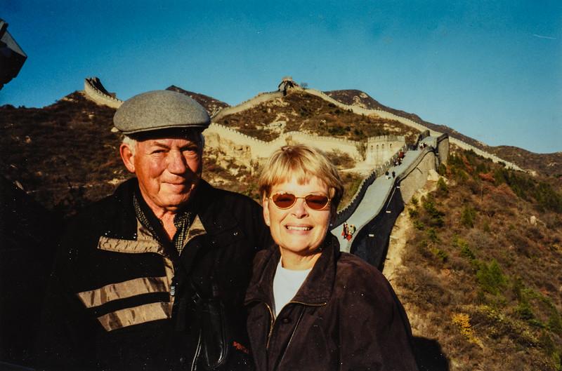 China- Great Wall Ken and Gerri Scheider 2000