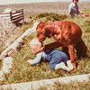 Scottie and Mom June 7, 1980 Spring Creek, NV