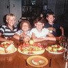 Eric, Sara Q, Kris, Scotty 1986