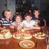 Eric, Sara Q, Kris, Scotty 1986