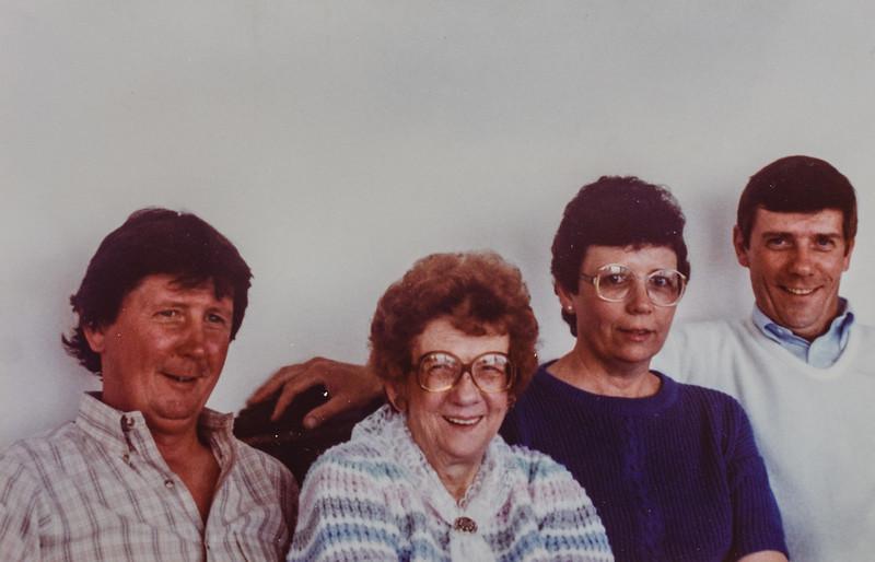 Russ, Pauline, Kathy, Paul