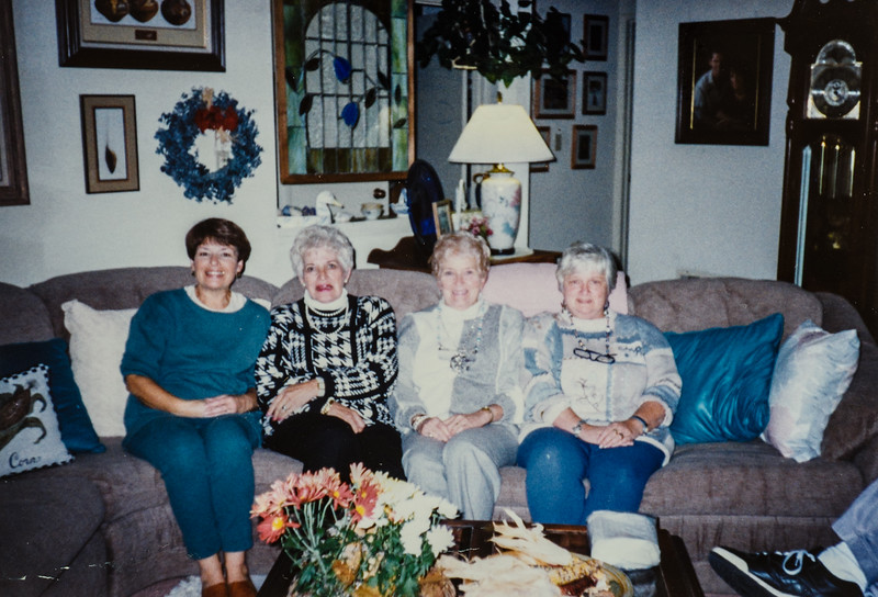 Gerri, Elsie, Carmen, Judy- old family friends