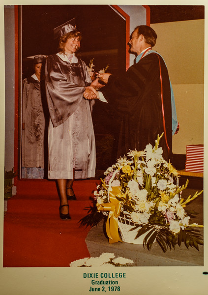 Dixie College Graduation June 2, 1978