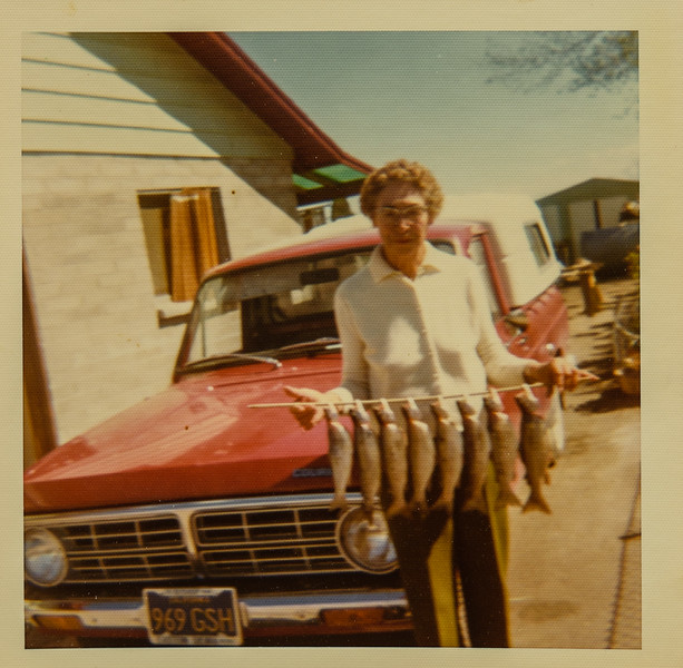 Jessie Hersch patitent in Bishop CA 1980