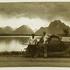 Thearn and Scott at Yellowstone Park on leave 1952
