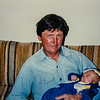 Grandpa Russ and Michael Brenden Edwards 1.2 weeks