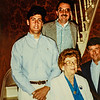 "Taken May 18, 1991 at Russell House. Mike Lamson, Don Gerow,  ""Nana"" Lamson, and Paul Lamson"