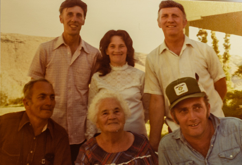 Scott, Fay, Jack, Ronald, Jennie, Thearn 1973