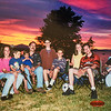 Jodi, Donavaughn, Emerson, Jay, Sara, Remington, Micheala, Scotty, Kristen on the 4th of July 2001