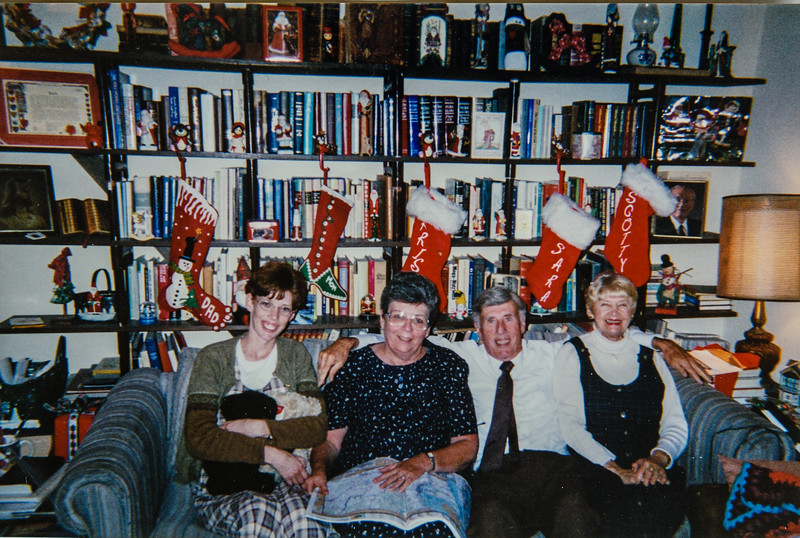Sara, Kathy, R. Scott, Louis, Sara's hospital roommate in 1999