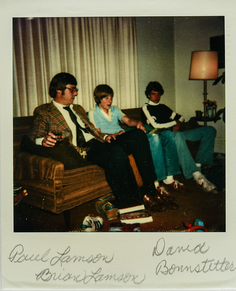 Paul Lamson, Brian Lamson, David Bonnstetter 1978
