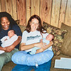 Joann and Jana Moore and Kristen and Elric Clark 2004