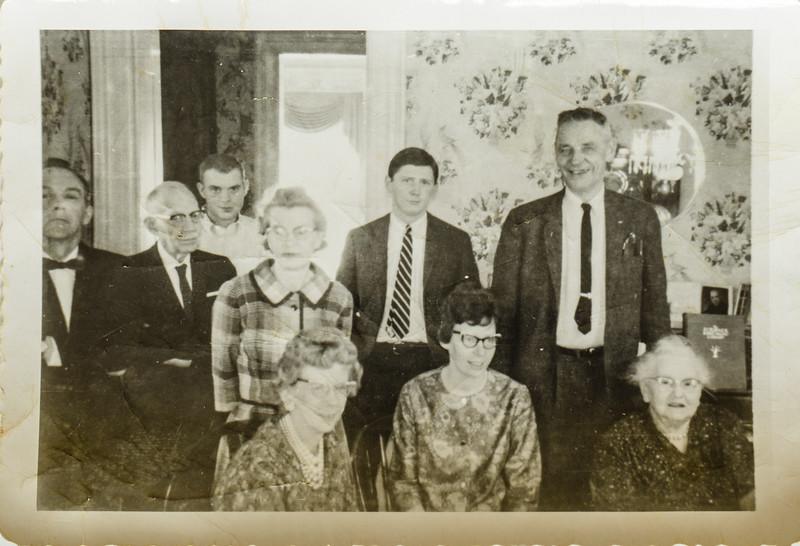 Clinton Shockley, Russ C Lamson, Russ O Lamson, Pauline, Kathleen, Jennie Shockley Nov. 27, 1962
