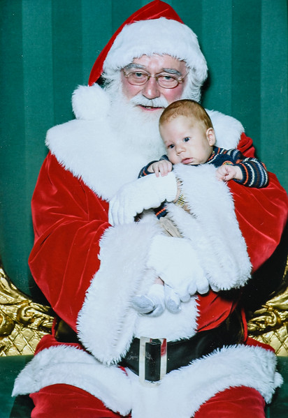 Santa and Elric Clark