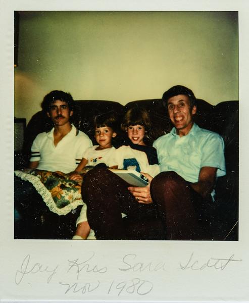 Jay, Kris, Sara, Scott Nov. 1980