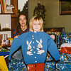 Micheala and Jodi Christmas 1993