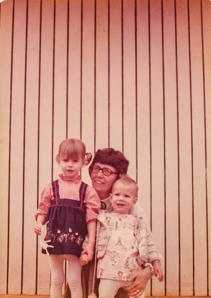 Sara, Kathy, Kristen 1976
