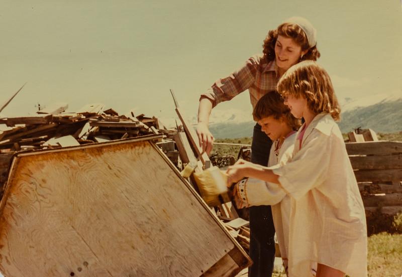 Vonda, Kris, Sara June 7 1980 Elko