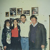 Christmas Eve Day 1998 Dad, Russell, Erin, Heidi, at Heidi's House