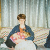 Me (Sara Jarvie) and Tasha Falconberg She's sleeping on my lap. 1994